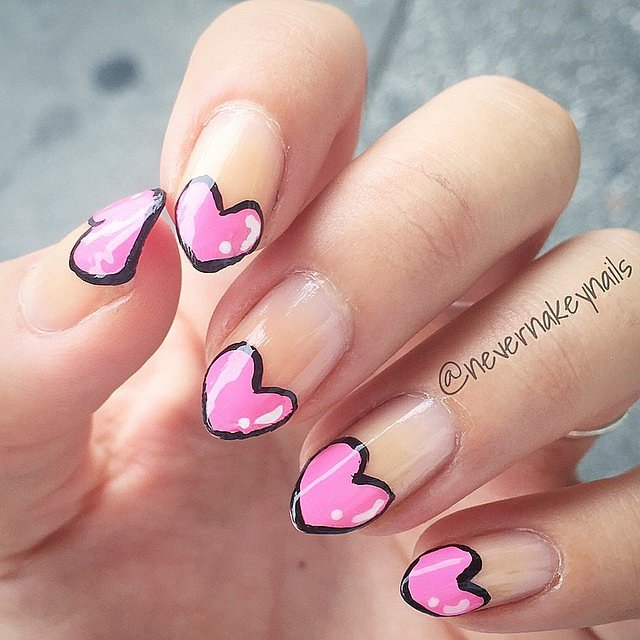 Instagram user nevernakeynails